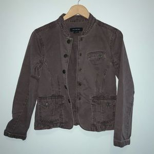 Calvin Klein Jeans Brown Embroidered Jacket Large